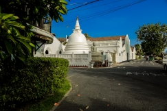 Ancient Buddhist Temple at Galle Fort
