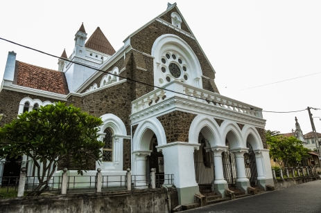 Old Dutch Church in Galle Fort